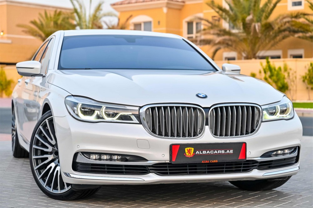 buy slightly used BMW 740i in UAE