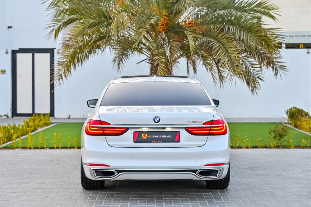 buy slightly used BMW 740i with warranty