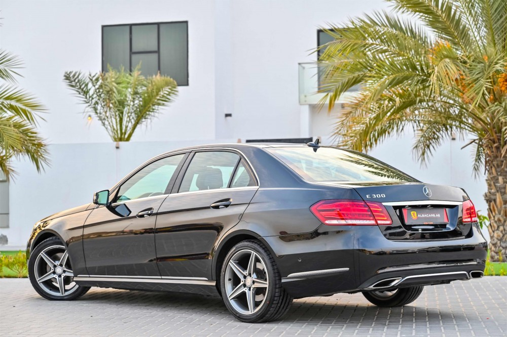 buy pre-owned Mercedes E300 V6 without downpayment