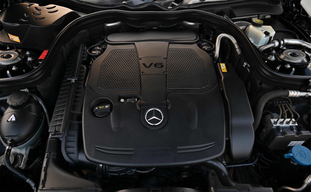 buy used Mercedes E300 V6 with warranty