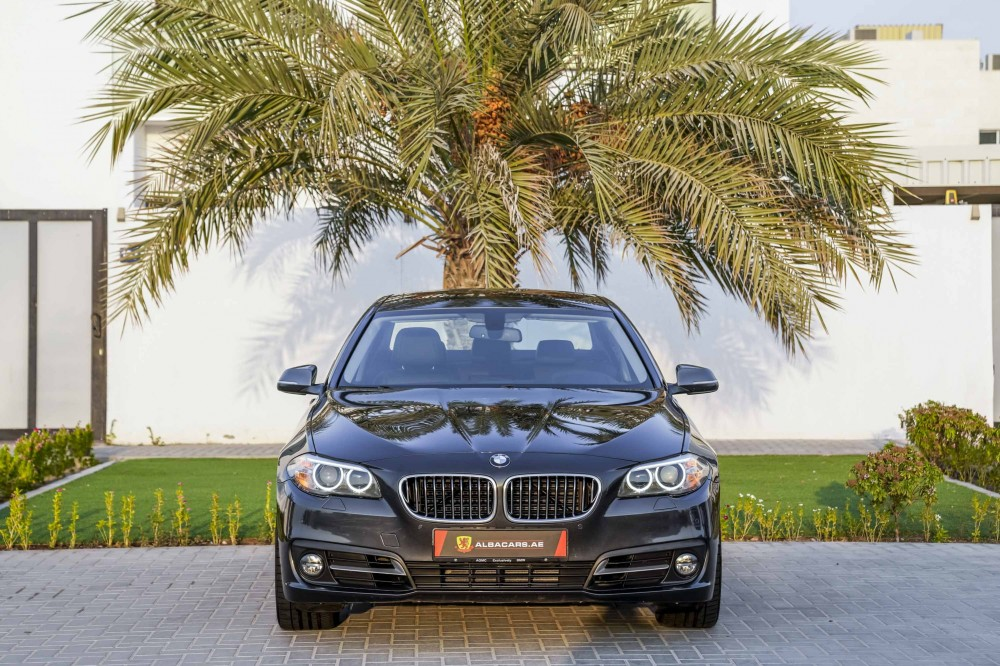buy pre-owned BMW 520i with warranty
