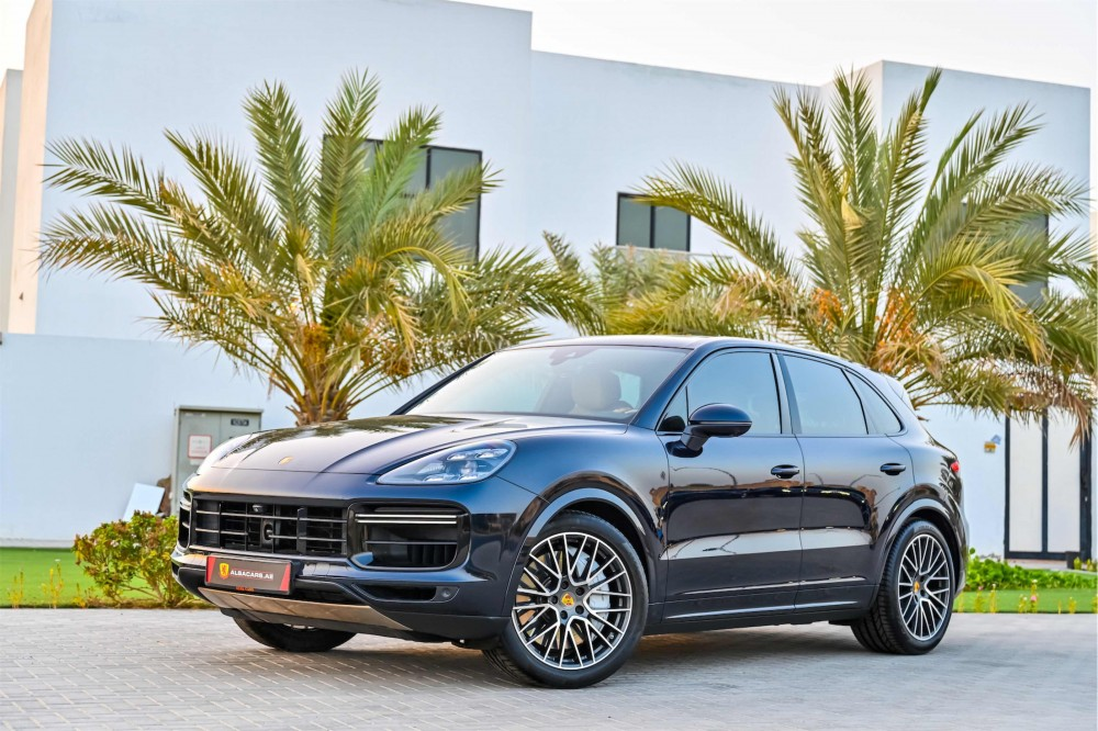 buy approved Porsche Cayenne Turbo in UAE
