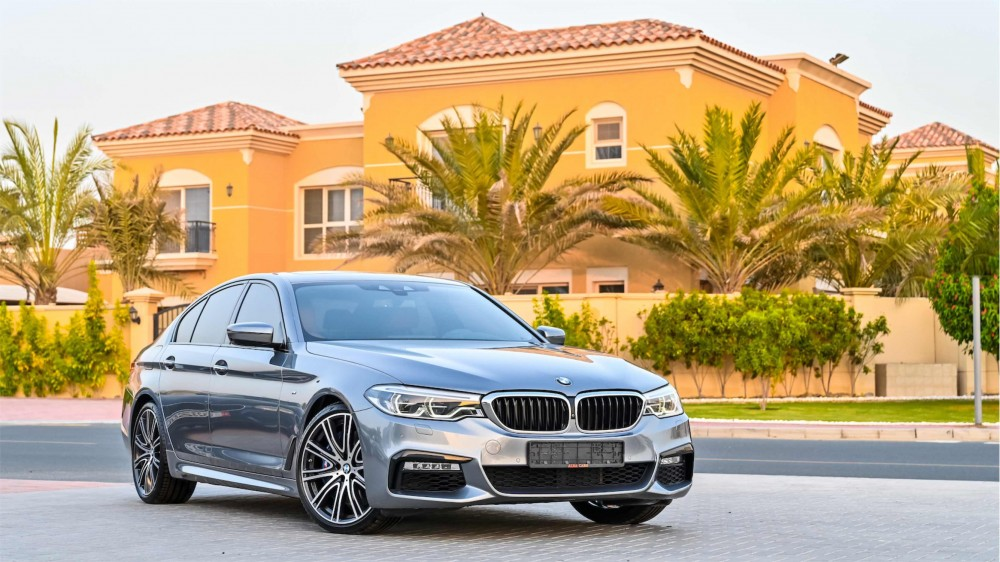 buy pre-owned BMW 540i M Sport Fully Loaded with warranty