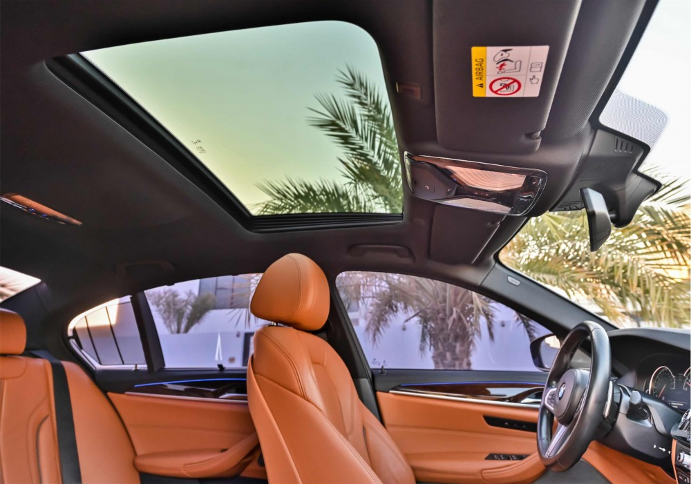 buy used BMW 540i M Sport Fully Loaded with warranty