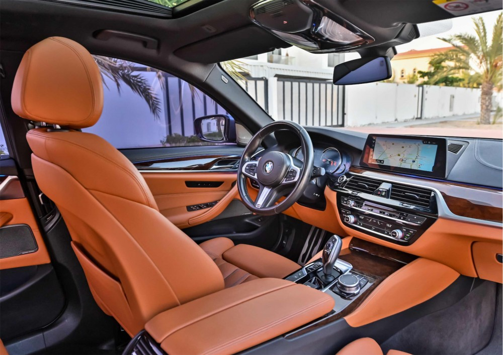 buy used BMW 540i M Sport Fully Loaded without downpayment
