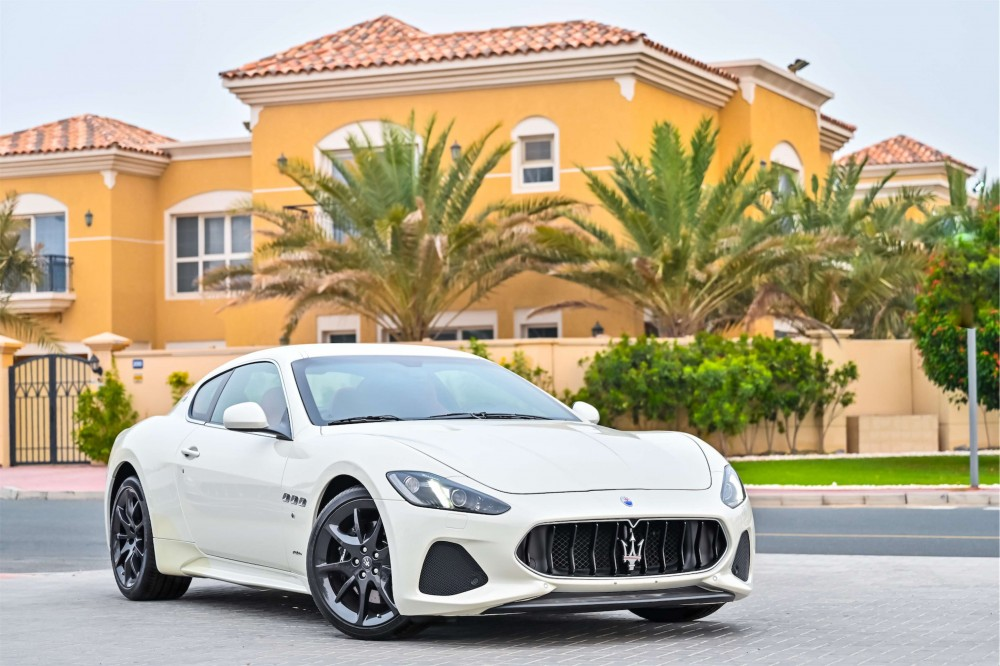 buy slightly used Maserati GranTurismo Sport V8 without downpayment