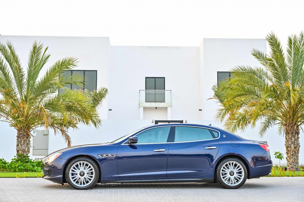 buy used Maserati Quattroporte S without downpayment