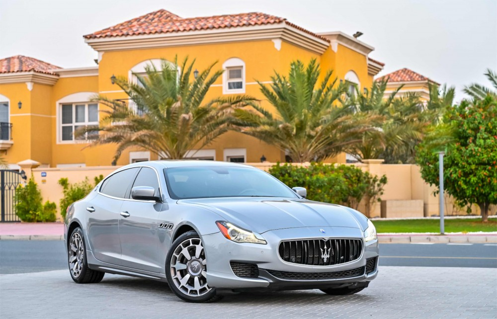 buy second hand Maserati Quattroporte GTS V8 without downpayment