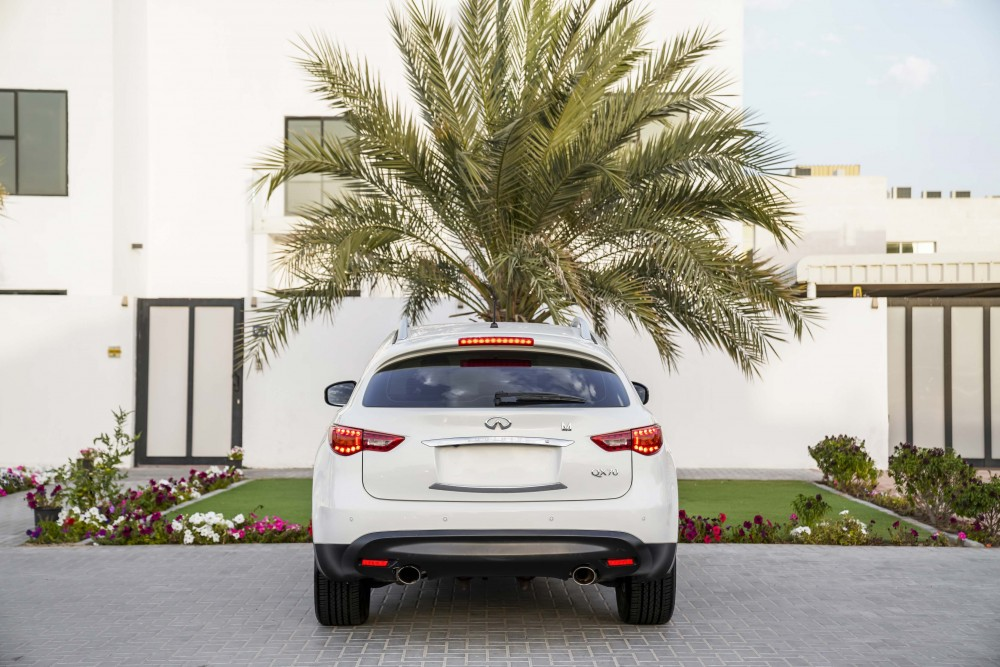 buy pre-owned Infiniti QX70 with warranty