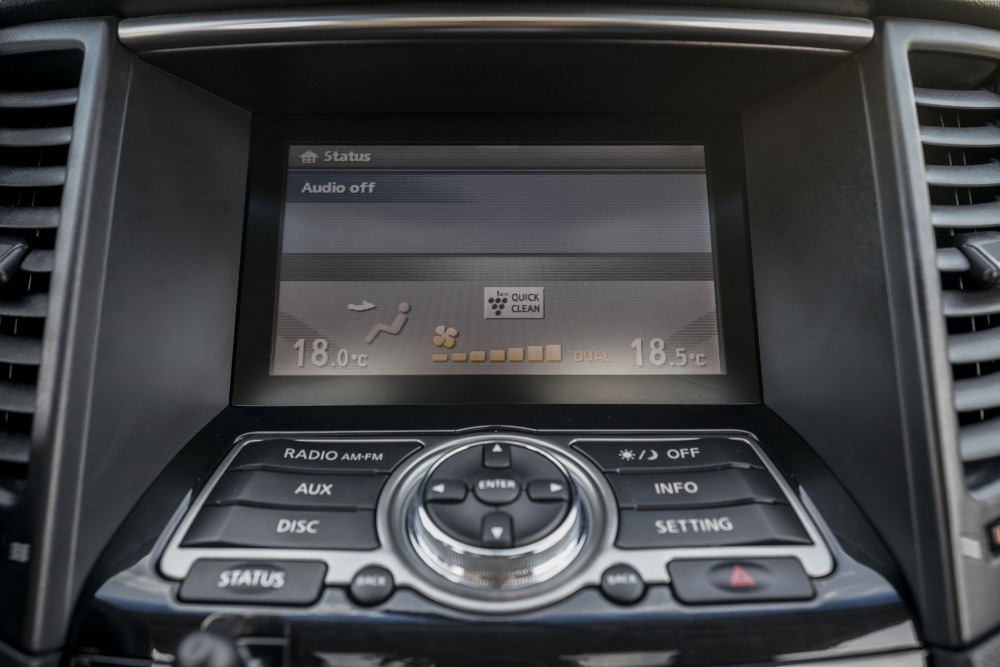 buy approved Infiniti QX70 with warranty