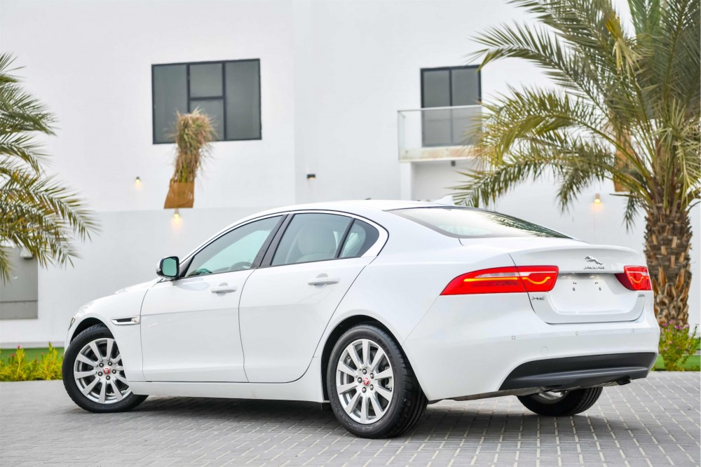 buy pre-owned Jaguar XE Prestige (Brand New) in Dubai