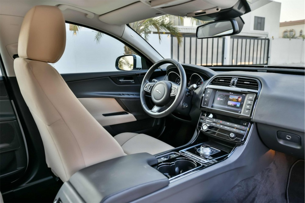 buy slightly used Jaguar XE Prestige (Brand New) in Dubai