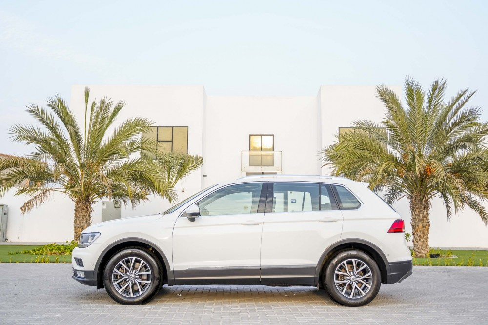 buy slightly used Volkswagen Tiguan 2.0L TSI without downpayment