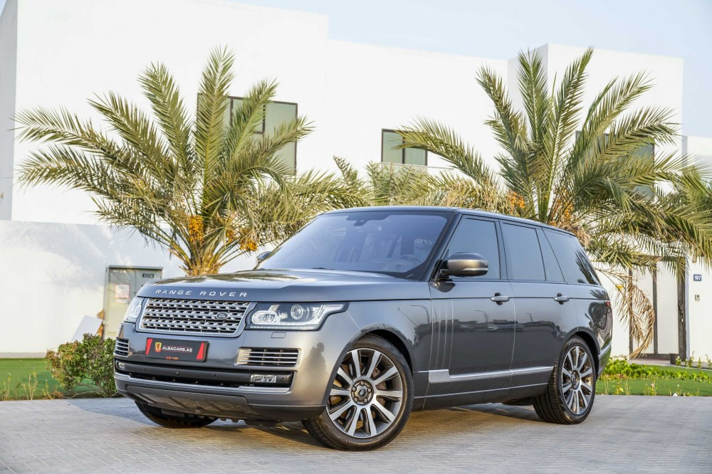 buy second hand Range Rover Vogue SE Supercharged 5.0L in UAE