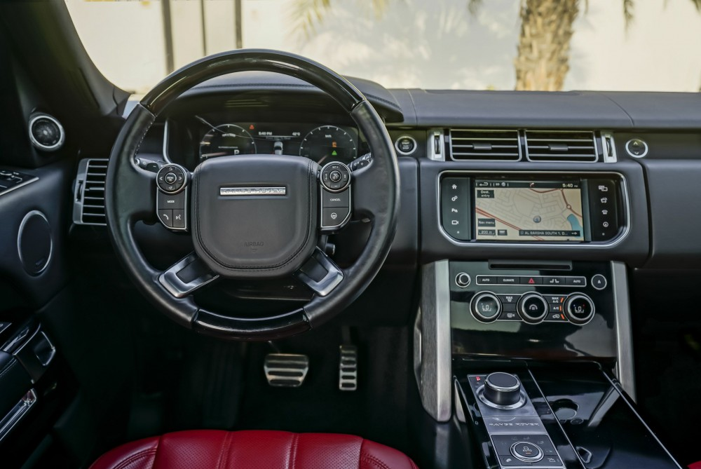 buy slightly used Range Rover Vogue SE Supercharged 5.0L without downpayment