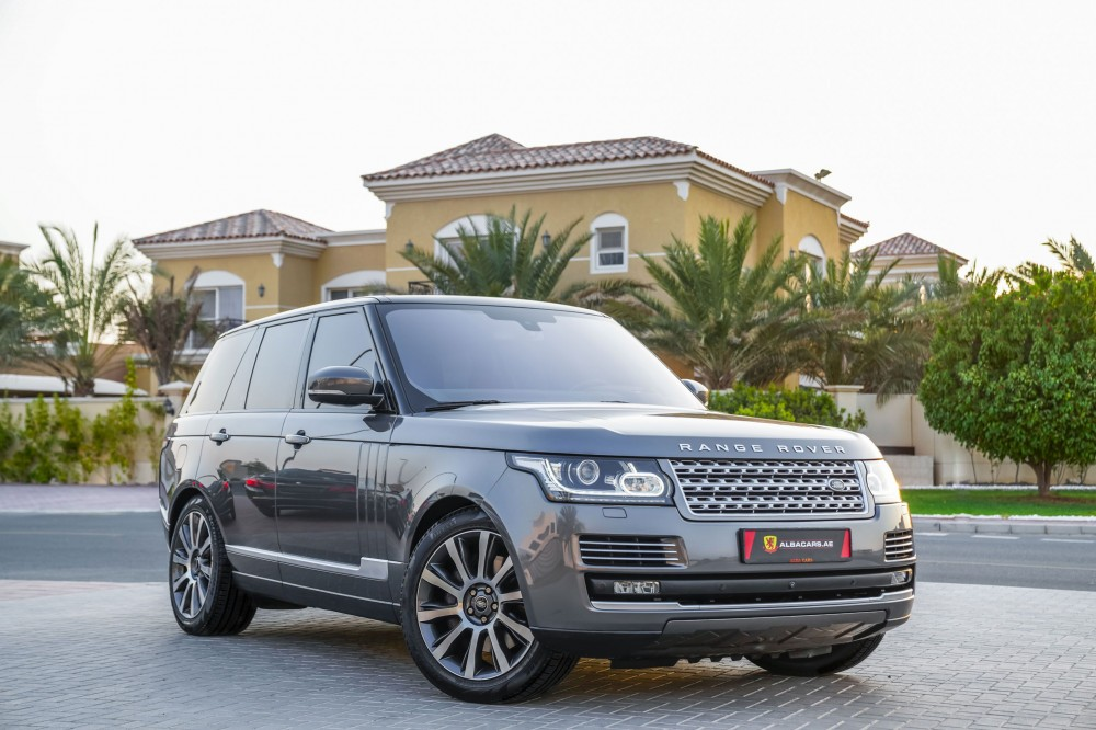 buy pre-owned Range Rover Vogue SE Supercharged 5.0L with warranty