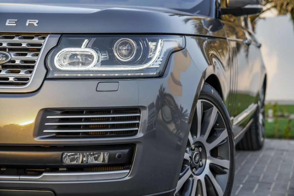 buy used Range Rover Vogue SE Supercharged 5.0L with warranty