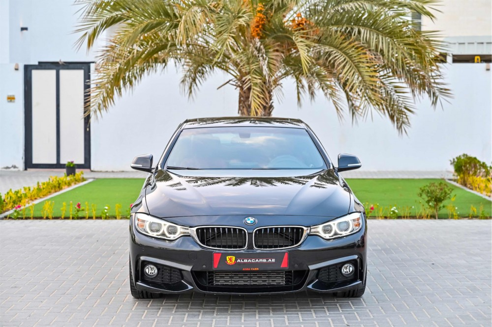 buy slightly used BMW 428i M-Kit in Dubai