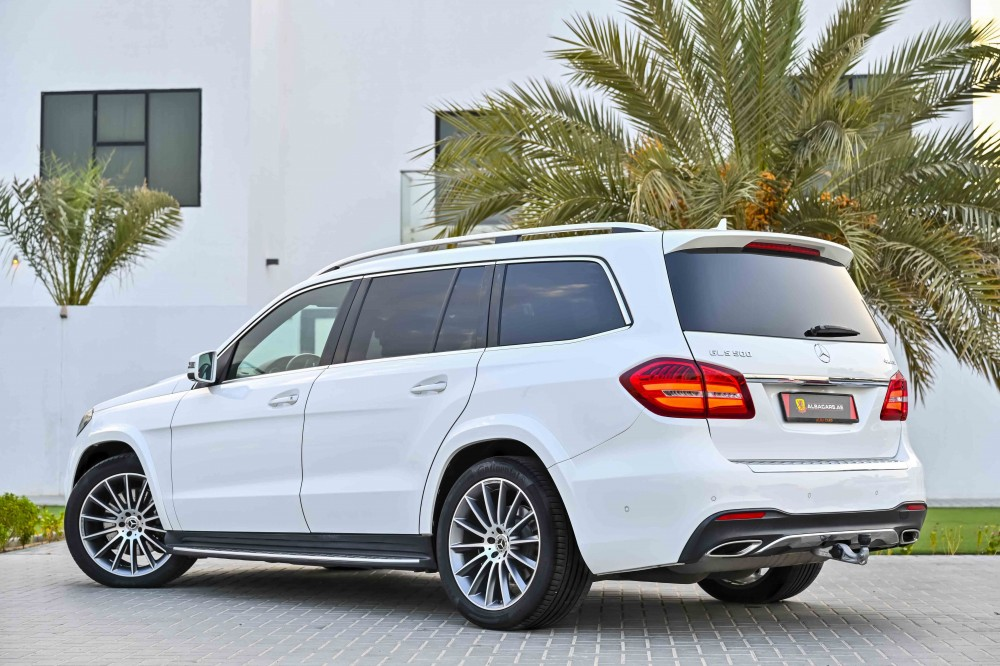 buy slightly used Mercedes GLS500 AMG-Kit without downpayment