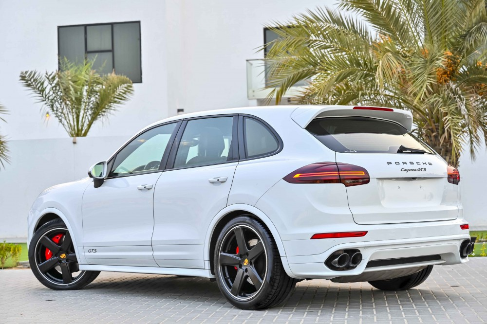 buy slightly used Porsche Cayenne GTS without downpayment