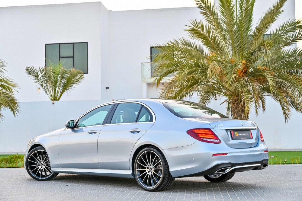 buy second hand Mercedes E300 AMG with warranty