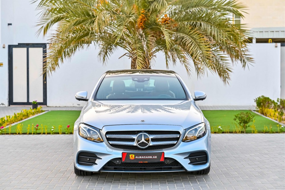 buy used Mercedes E300 AMG without downpayment