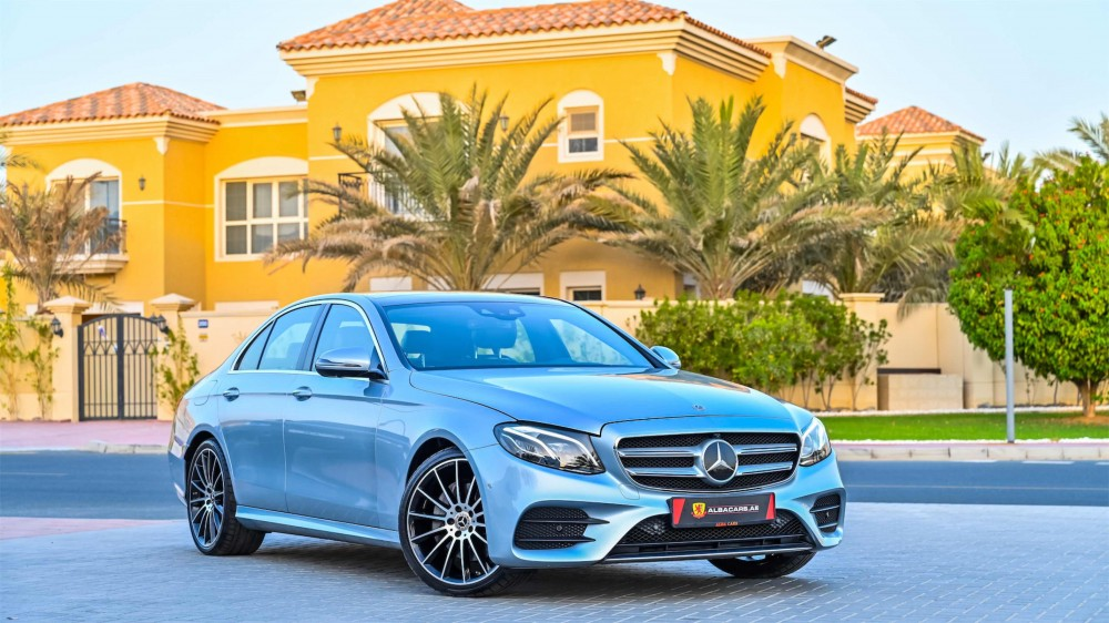 buy used Mercedes E300 AMG with warranty