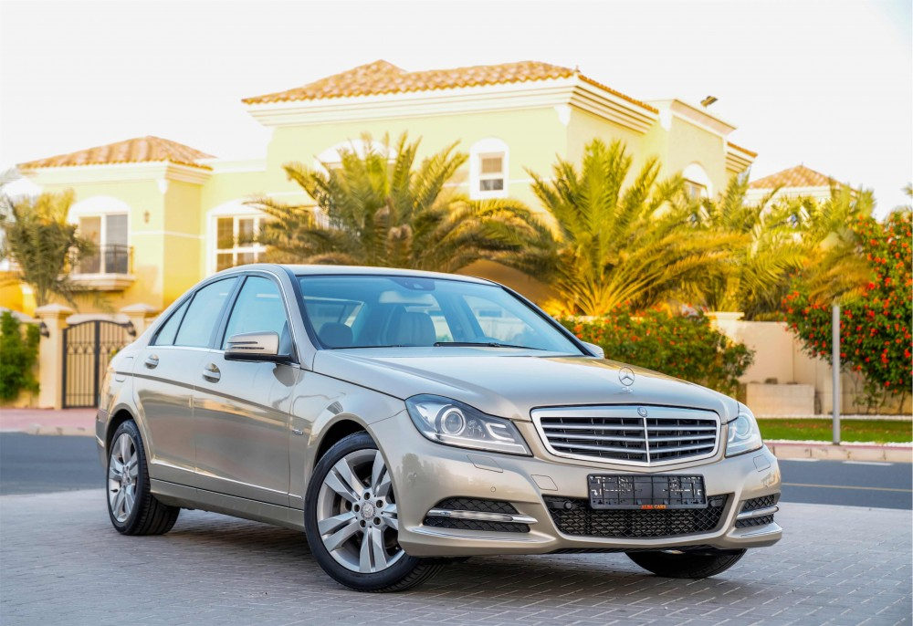 buy used Mercedes C200 without downpayment