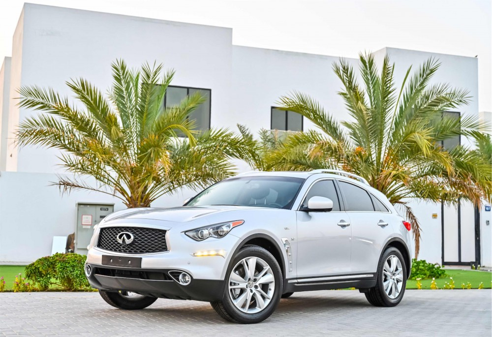 buy approved Infiniti QX70 Agency Warranty without downpayment