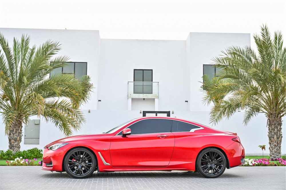 buy used Infiniti Q60 Sport 3.0L without downpayment