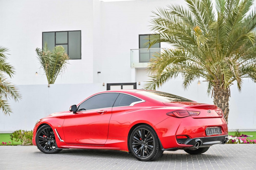 buy second hand Infiniti Q60 Sport 3.0L with warranty