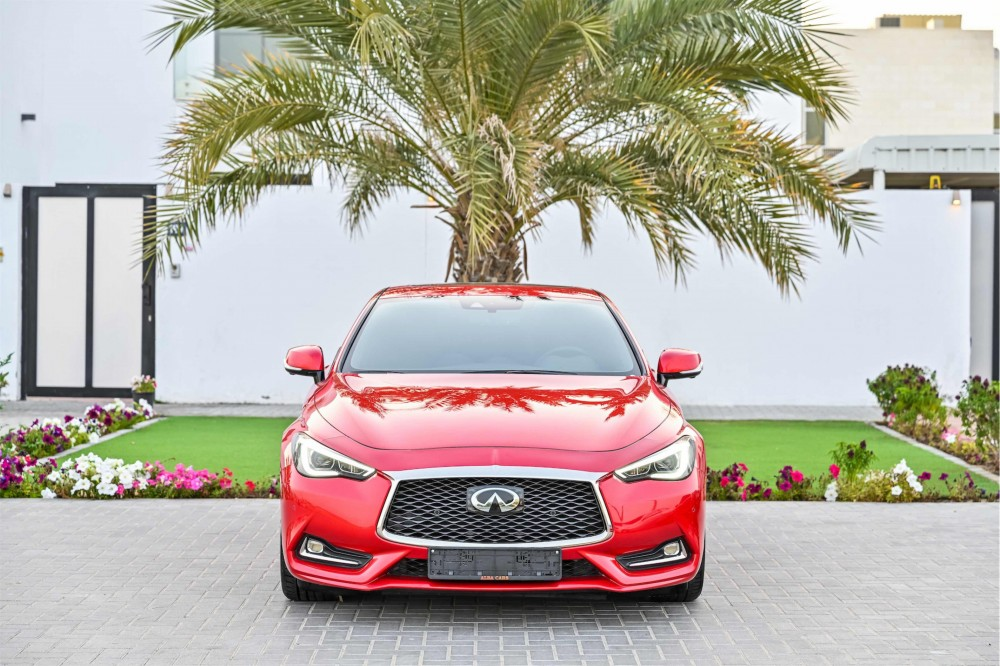 buy slightly used Infiniti Q60 Sport 3.0L without downpayment