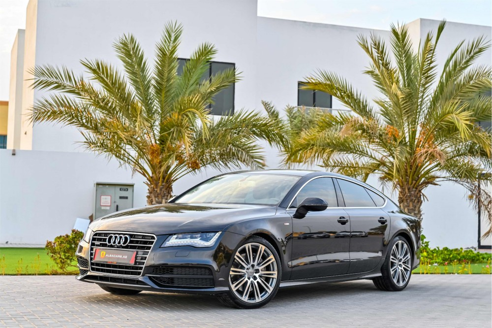 buy certified Audi A7 S-Line without downpayment