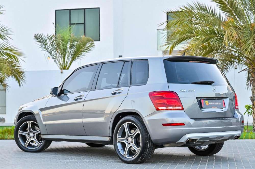 buy pre-owned Mercedes GLK250 without downpayment
