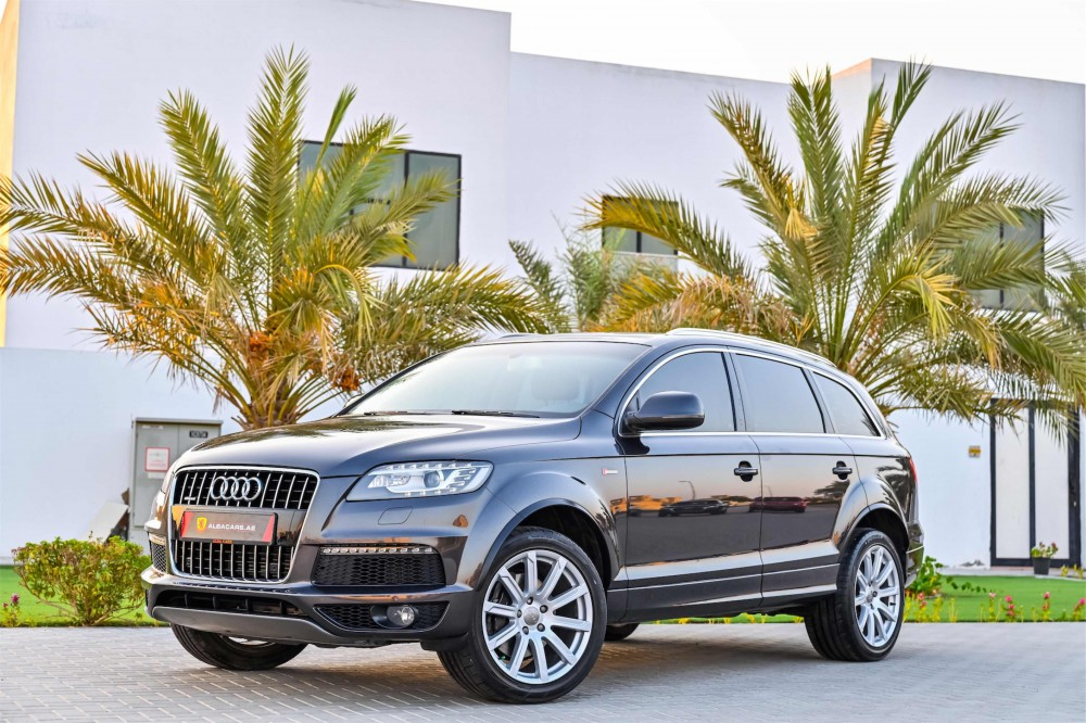buy certified Audi Q7 S-Line Super Charged with warranty