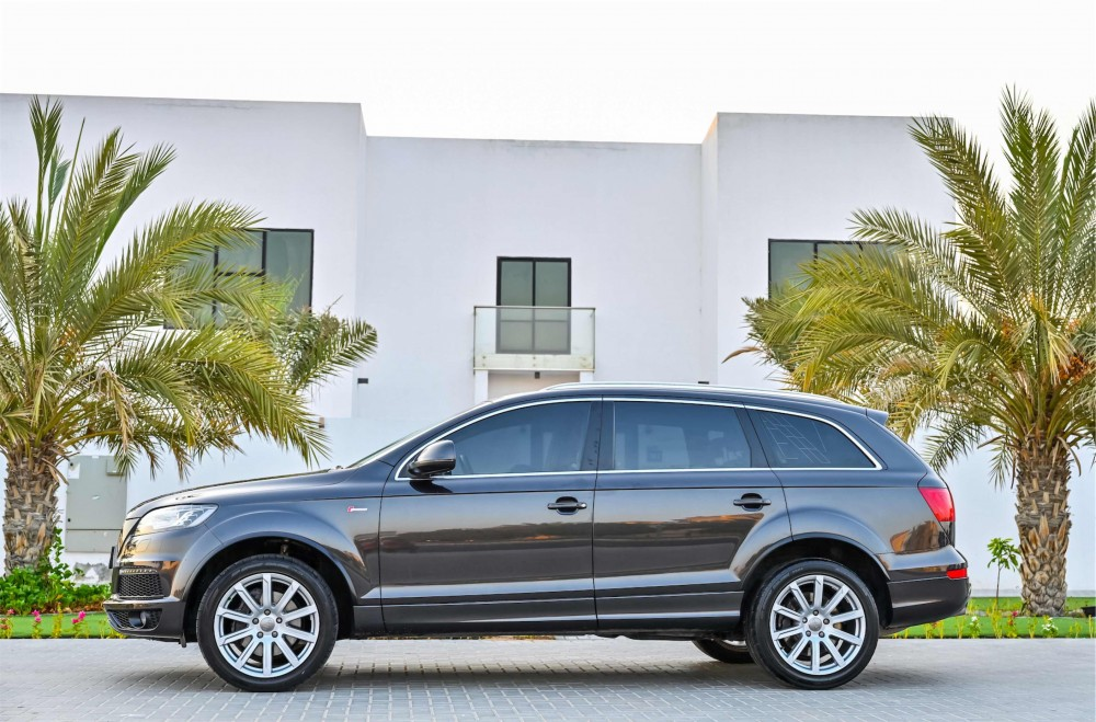 buy used Audi Q7 S-Line Super Charged in UAE