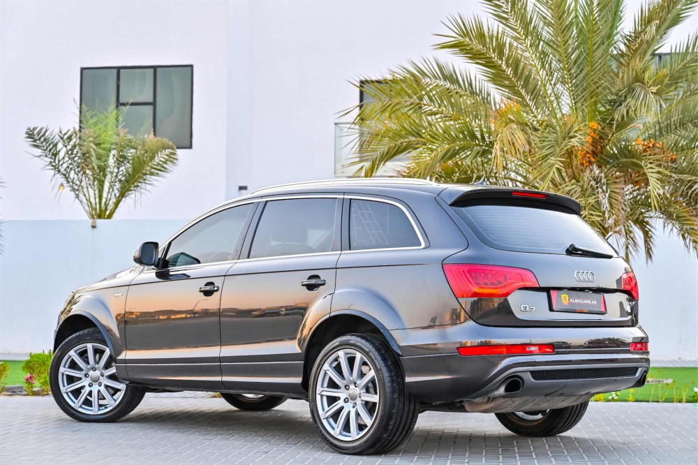 buy used Audi Q7 S-Line Super Charged in Dubai