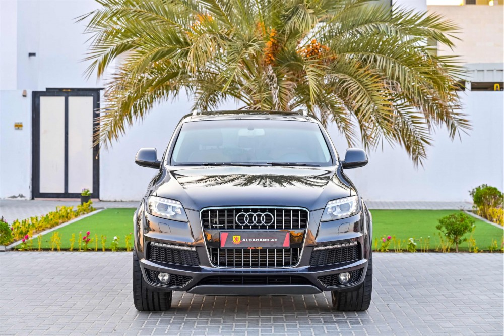 buy slightly used Audi Q7 S-Line Super Charged without downpayment