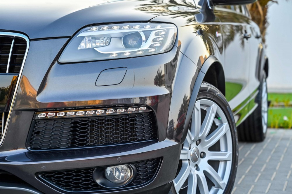 buy certified Audi Q7 S-Line Super Charged in UAE