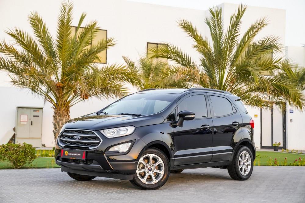 buy pre-owned Ford EcoSport Trend with warranty