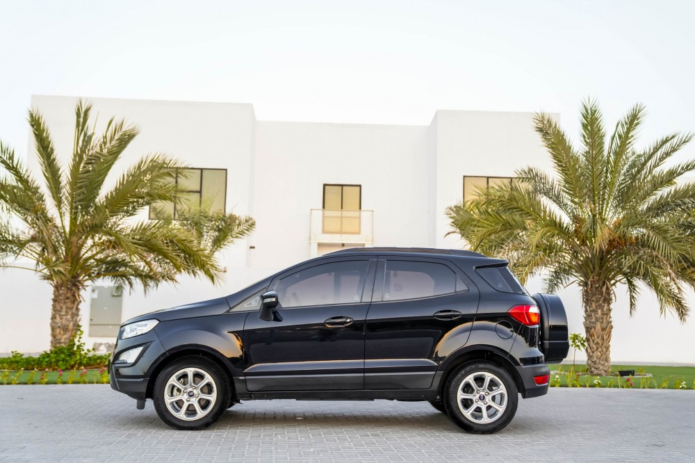 buy slightly used Ford EcoSport Trend in Dubai
