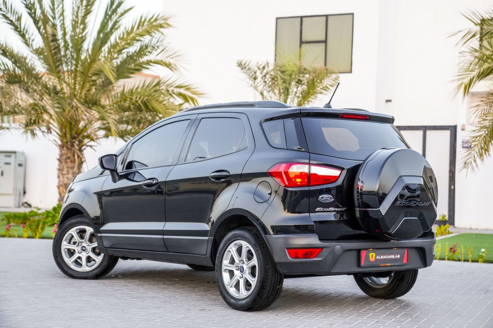 buy used Ford EcoSport Trend without downpayment