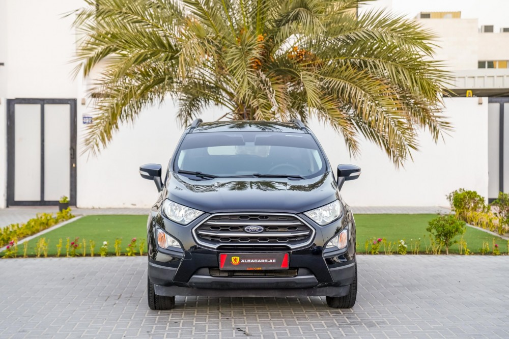 buy slightly used Ford EcoSport Trend without downpayment
