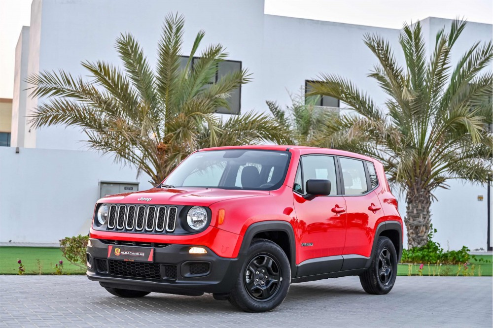 buy approved Jeep Renegade Sport with warranty