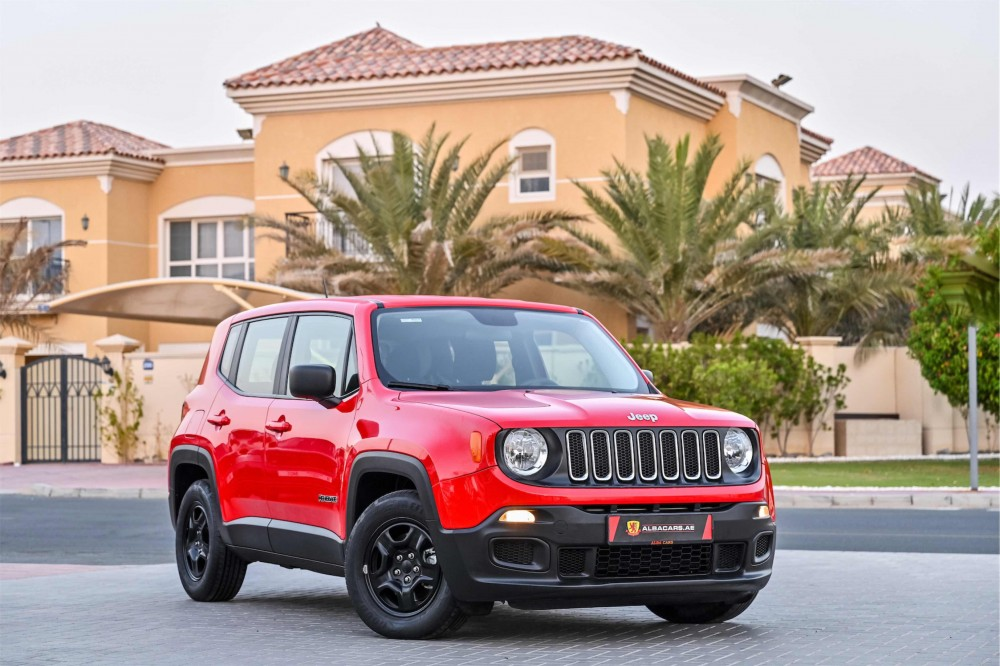 buy second hand Jeep Renegade Sport without downpayment