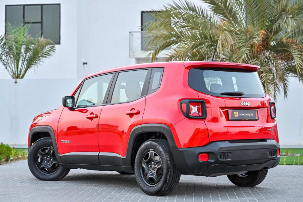 buy second hand Jeep Renegade Sport in UAE