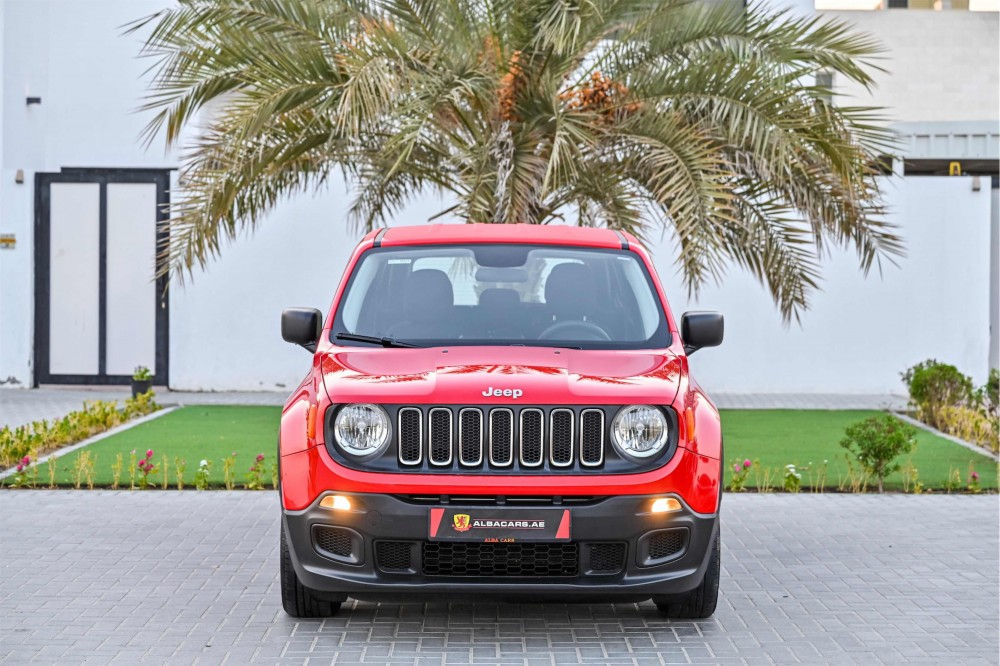 buy slightly used Jeep Renegade Sport with warranty