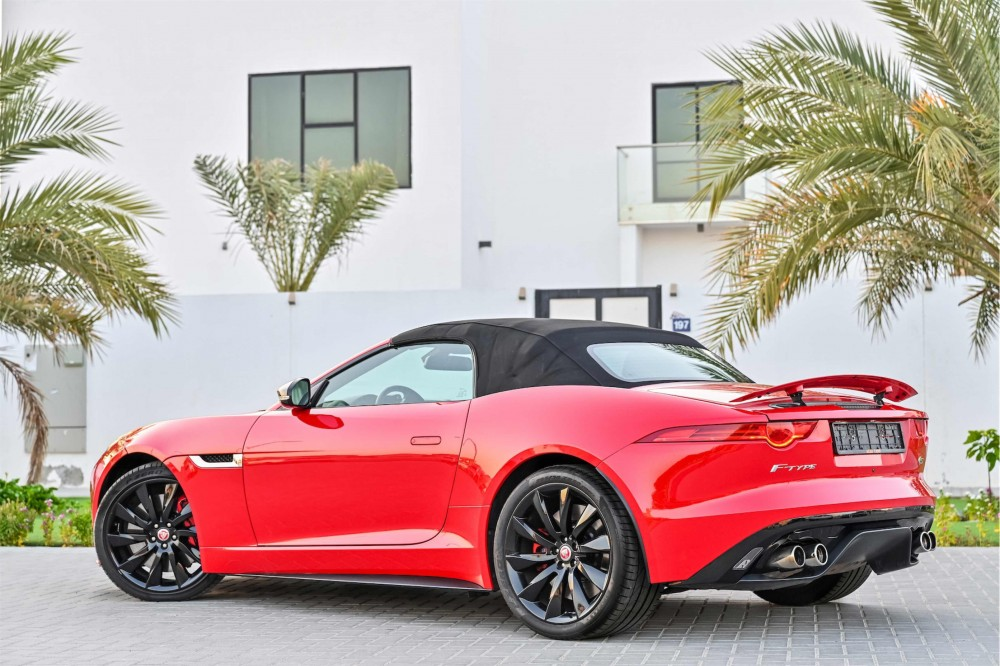 buy pre-owned Jaguar F-Type S V8 without downpayment