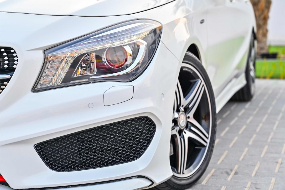 buy slightly used Mercedes CLA250 without downpayment