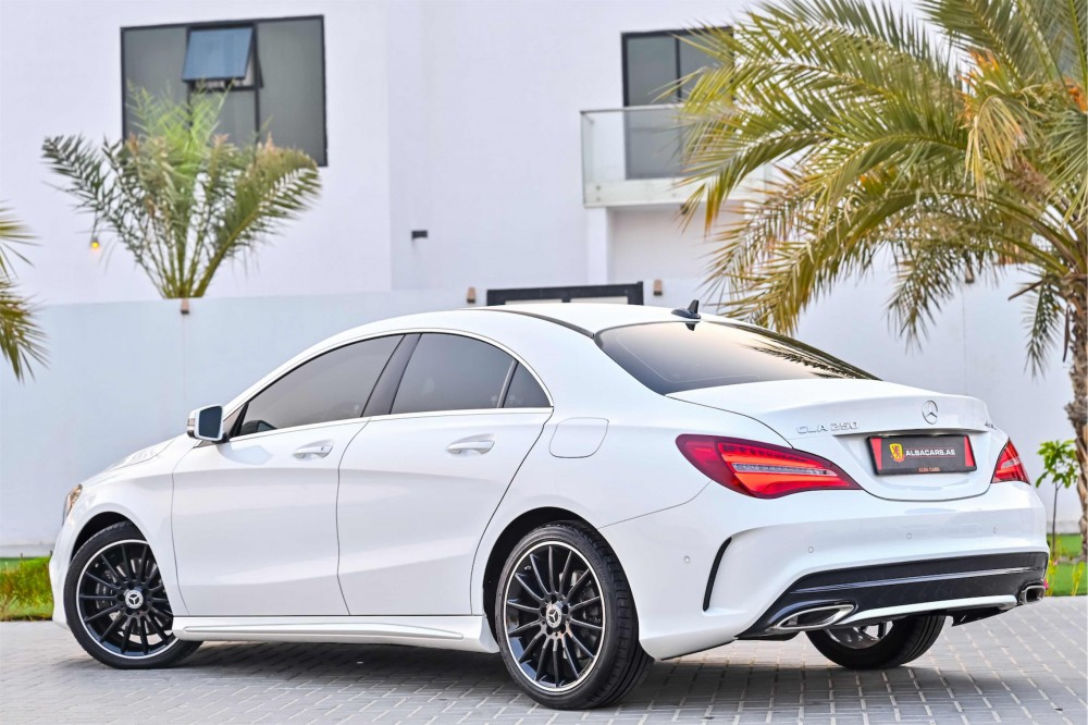buy approved Mercedes CLA250 in UAE